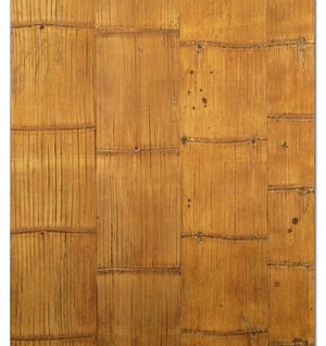 Crushed Bamboo Panel Finished