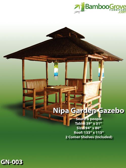 Bamboo Gazebo Nipa Garden
