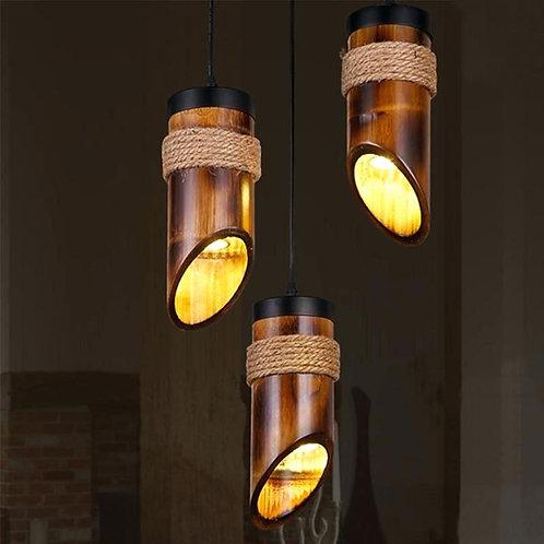 Bamboo Chandelier Light