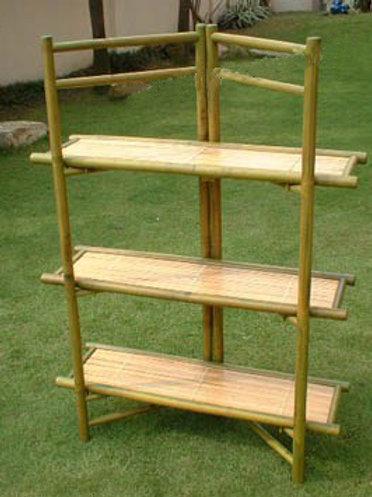 Bamboo Bathroom Shelves BGF