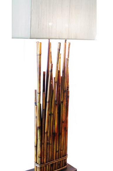 Bamboo Floor Lamp