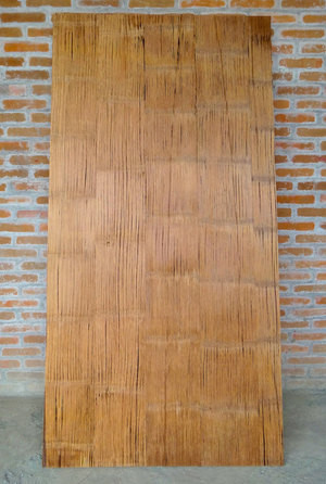 Crushed Bamboo Panels
