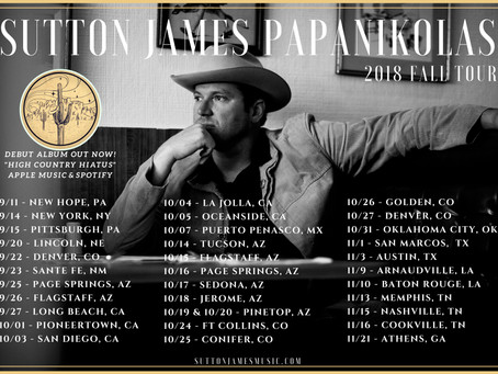Michigan Ends & Fall Tour Begins!!!