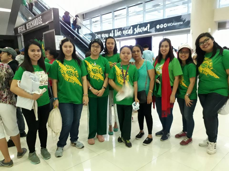 Angels Walk for Autism at the SM Mall of Asia in Pasay