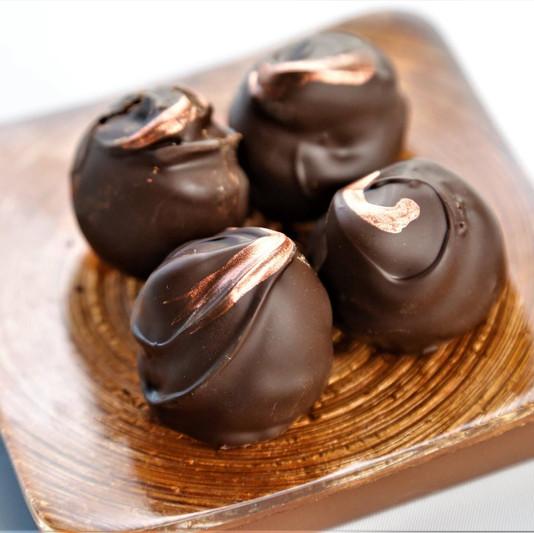 Rainy Day Chocolate Truffles