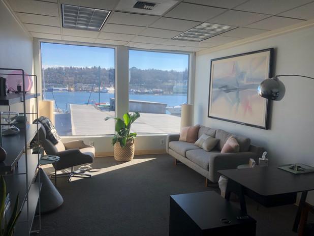 Serene office view