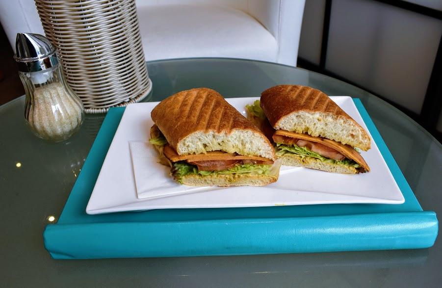 The signature Heart of Joy Sandwich
