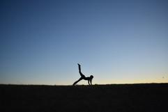 Yoga in Carbondale, Illinois.
