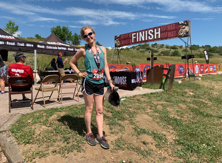 My First Mountain Race