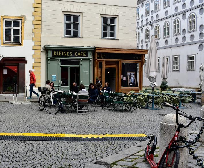 Kleine's Cafe, Vienna.