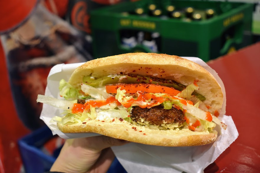The image of train station falafels that dance in my head.