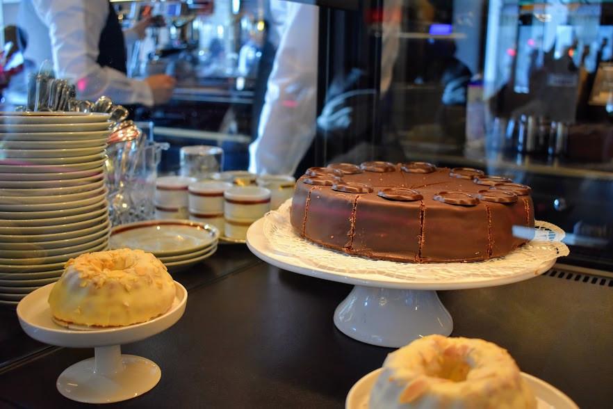 The Original Sacher Torte at Sacher Café