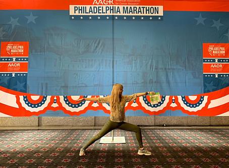 Running the Philadelphia Marathon