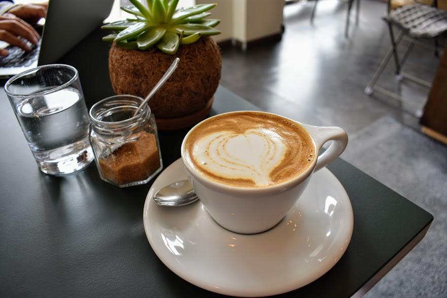A cappuccino at GOTA