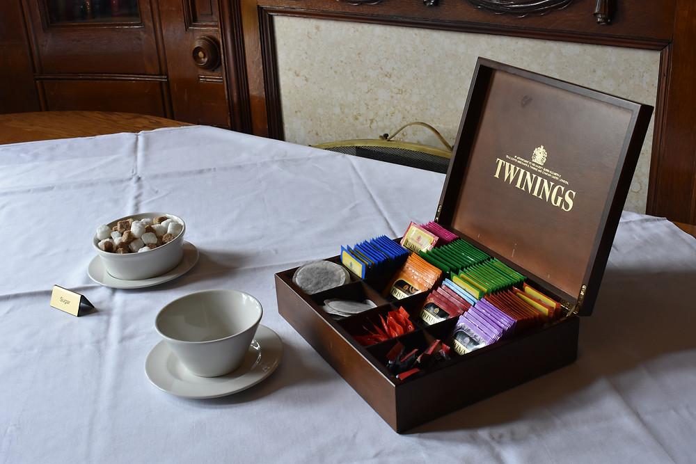 English-style tea