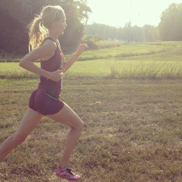 Running morphed into my strength, my identity, my source of discipline.