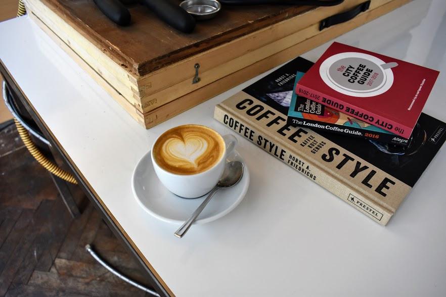 A cappuccino at Fürth Kaffee