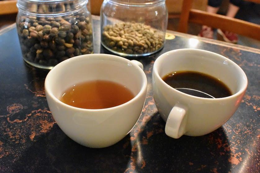 Coffee Beans & Brew