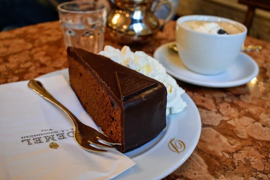 The Original Eduard Sacher Torte at Demel
