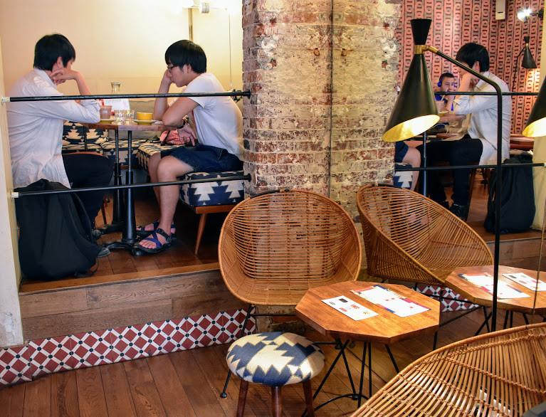 Work-friendly space at Café Loustic