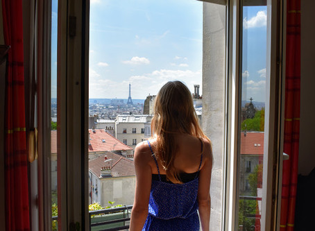 A day in a writer's life in Paris