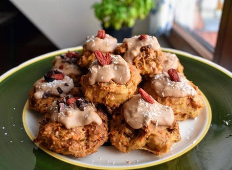 Vegan Farmer's Market Carrot Cake Cookies + Craft Chocolate Glaze