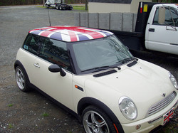 CAR TOP WRAPPED