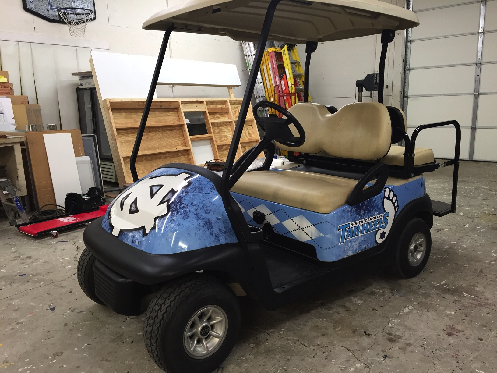 GOLF CART FULL WRAP
