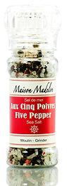 maisonmadelon.com Maison Madelon Five Pepper sea salt