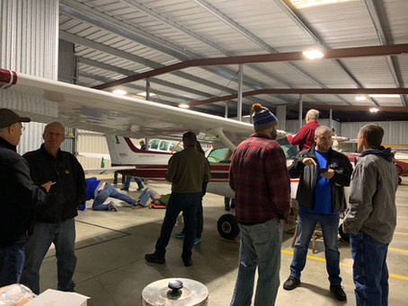 2019 Fall hangar clean up