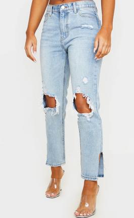 Distressed PLT Jeans