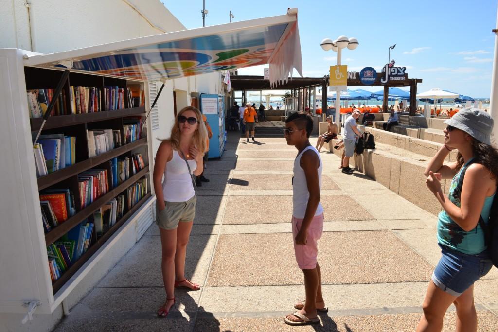 ספריות במרחב הציבורי