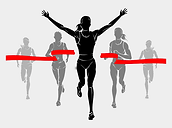 17-171582_runner-crossing-finish-line-si