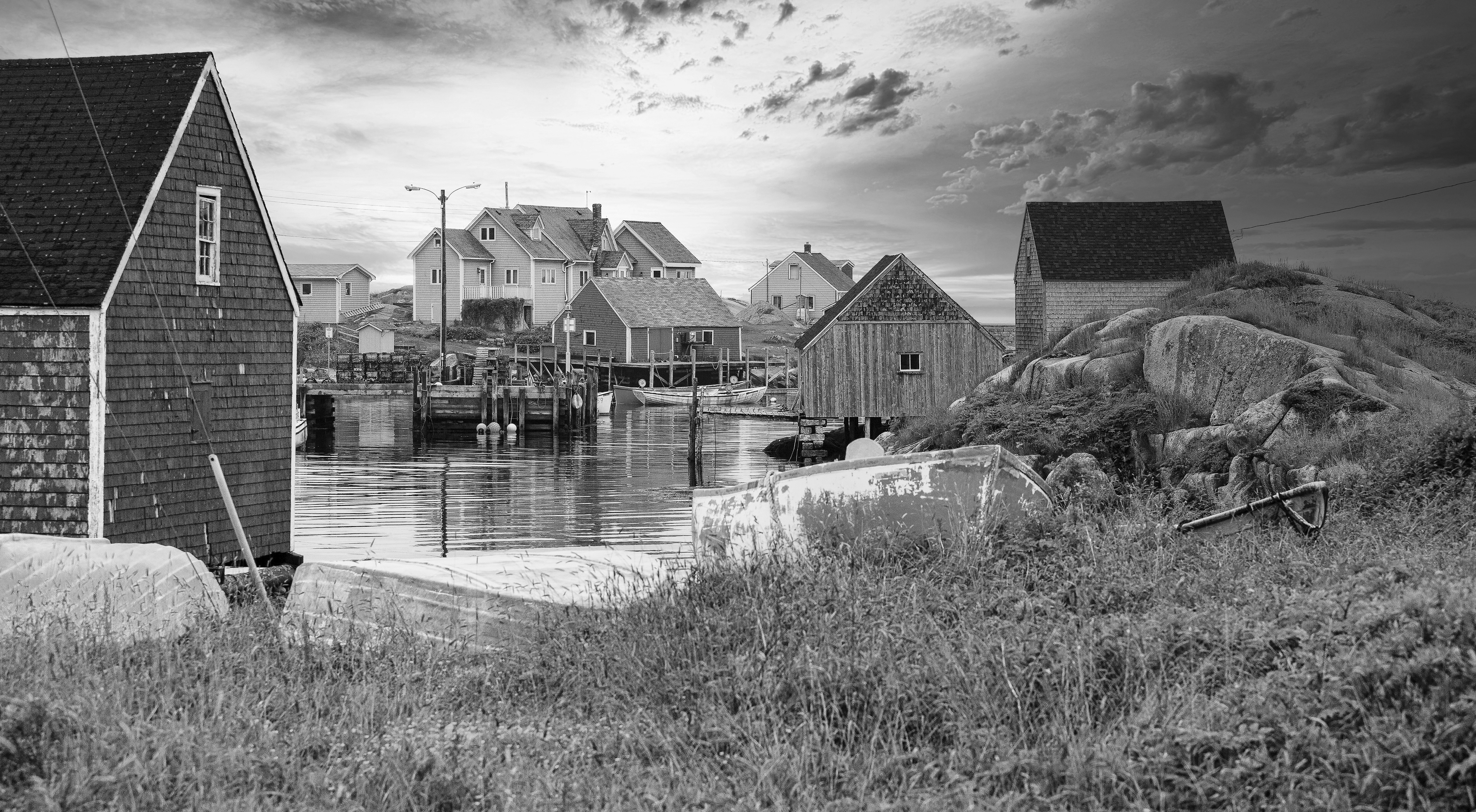 Layers Of A Fishing Village - Peggy's Co