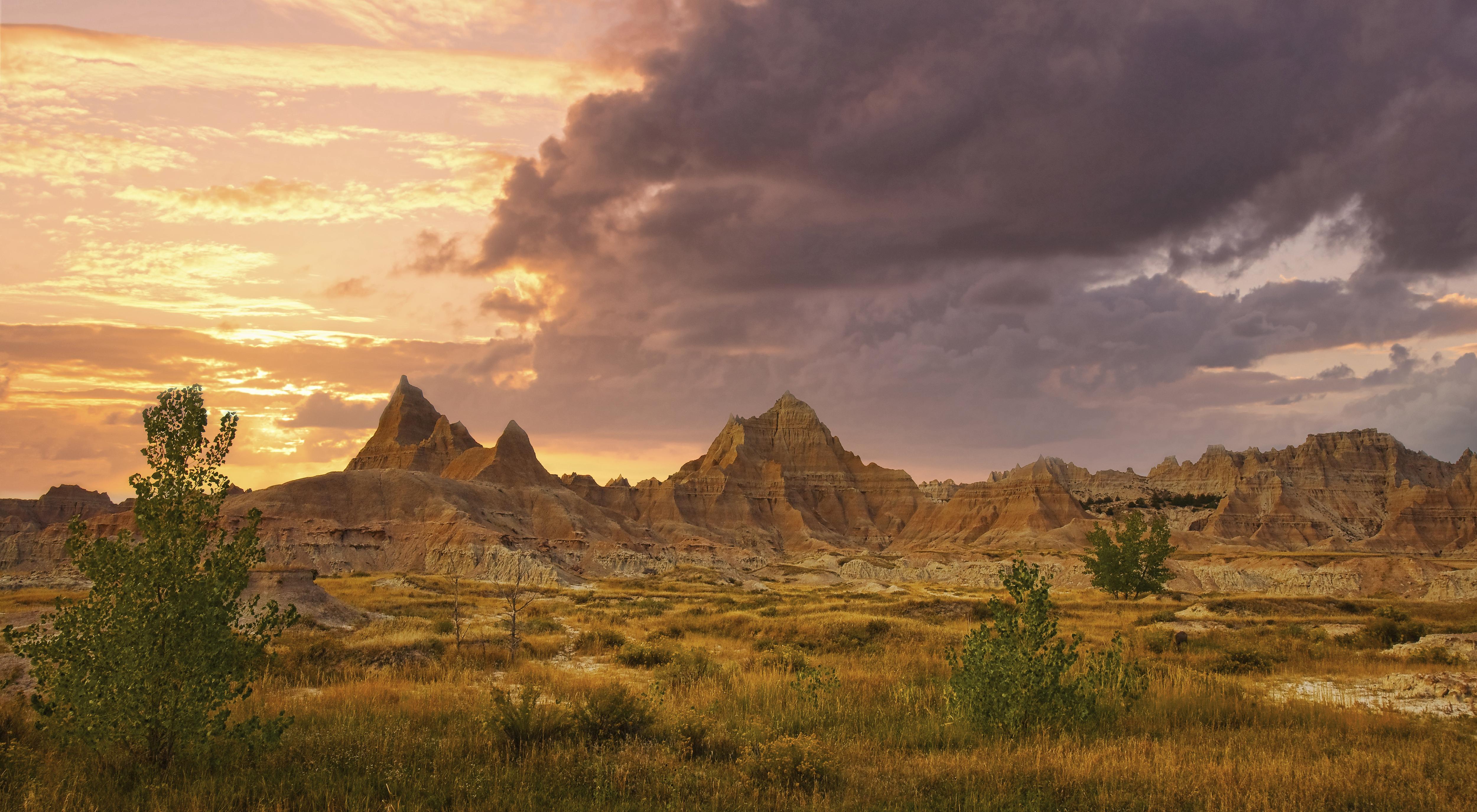 Evening's Soft Step - The Badlands NP SD