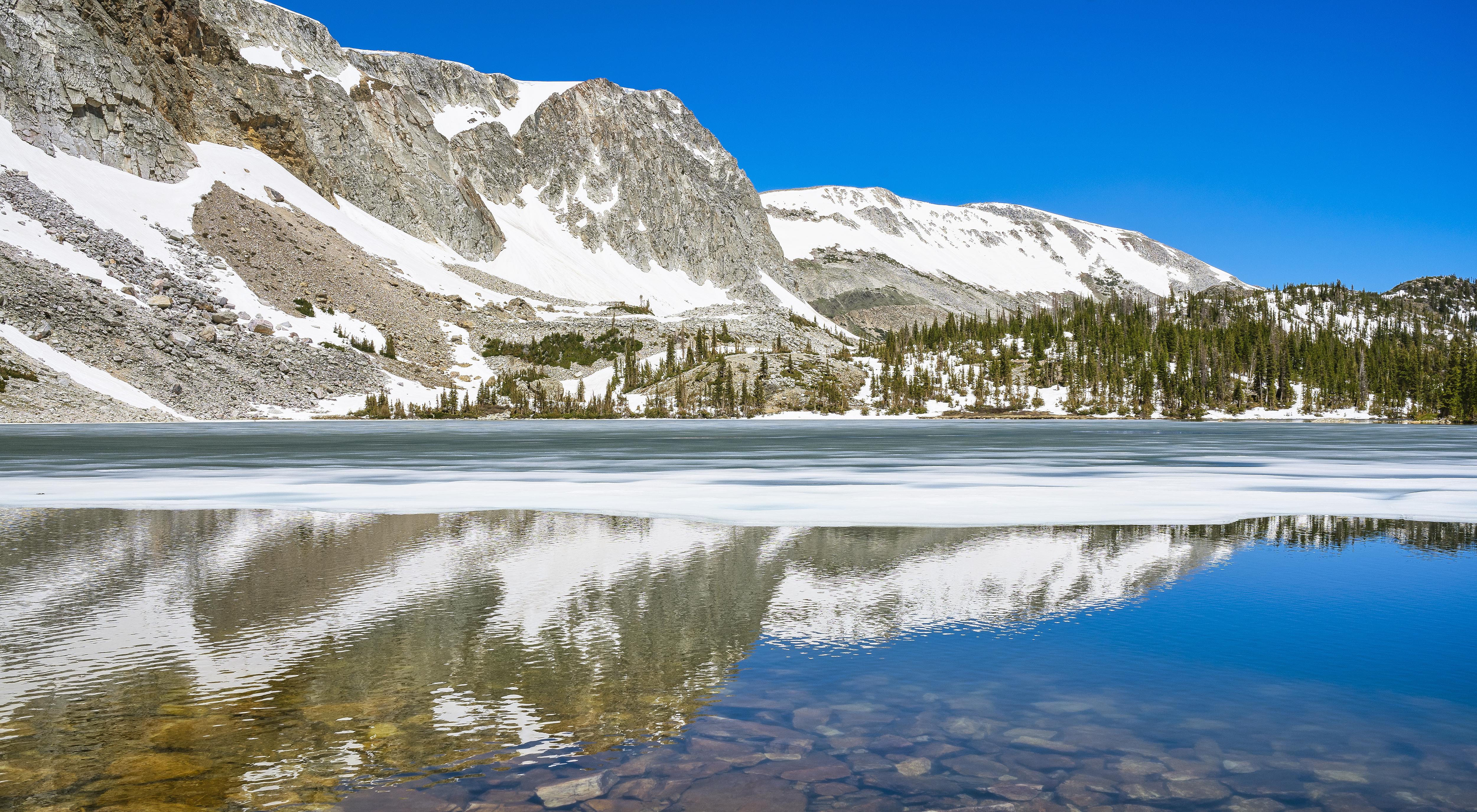 Winter's Last Ice