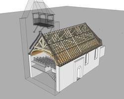 Eglise de GESTAS Vue 2