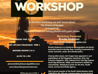 SF Port and ferry workers gather for a PHOTOGRAPHY WORKSHOP @PIER 1 May 11, 2017 with Brooke Anderso