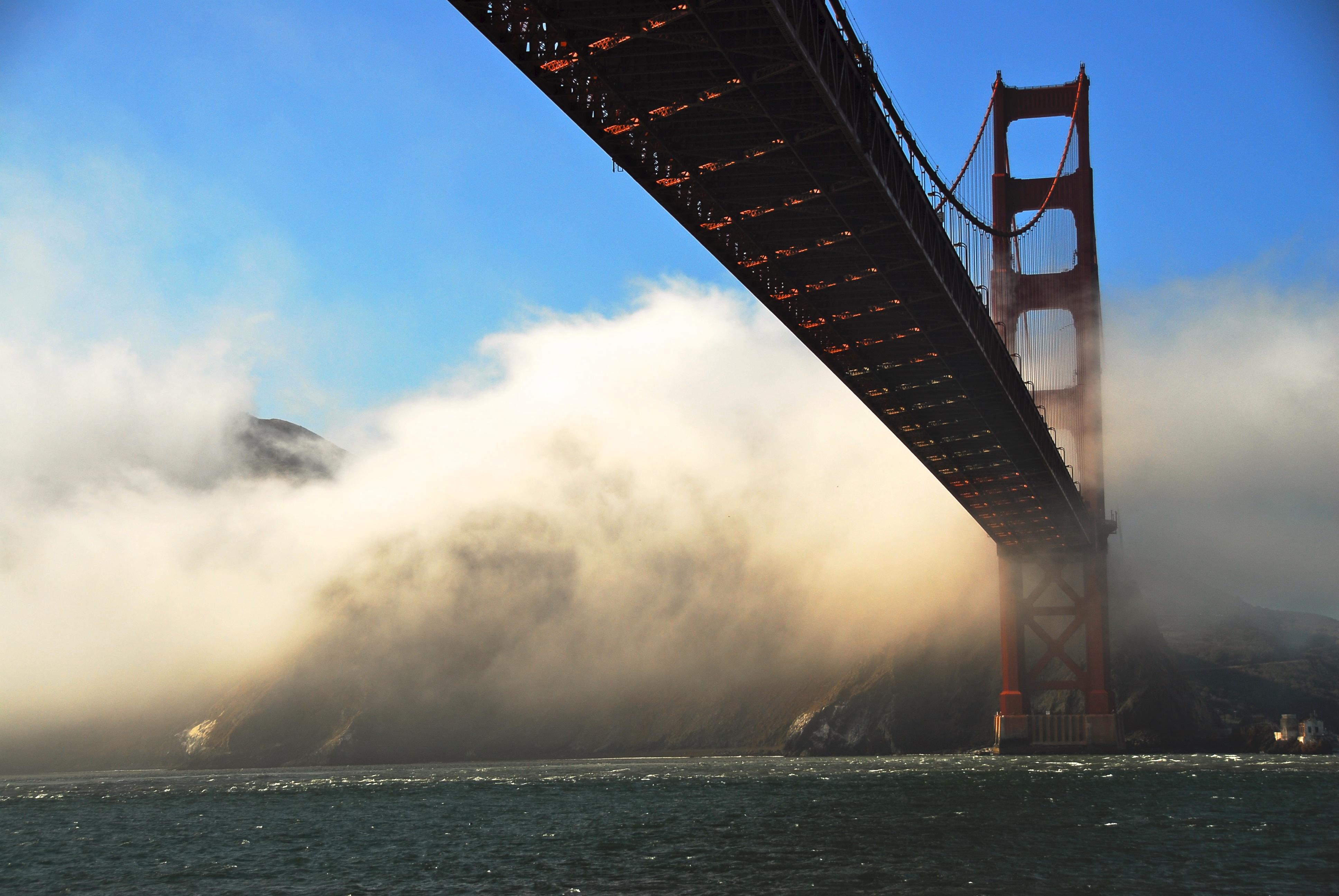Golden Gate Fog Skirt by Keith Martin