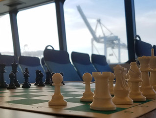 CHESS ON THE SF BAY FERRY!