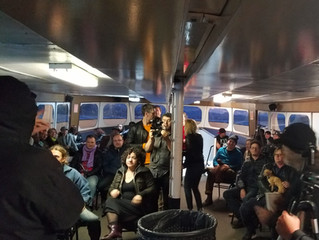 BCGW organizes Tiburon ferry multi-media art event!