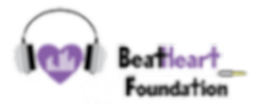 BeatHeart Foundation logo inverted trans