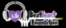 BeatHeart Foundation logo inverted trans