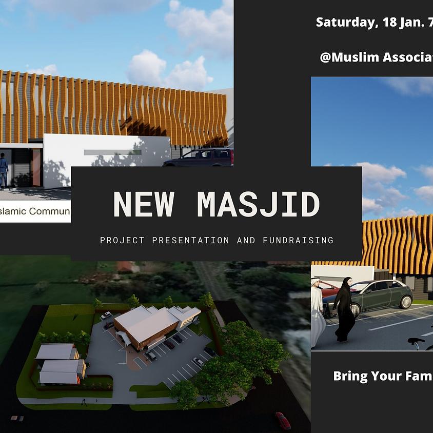 Project Presentation and Fundraising for New Masjid Khadeja