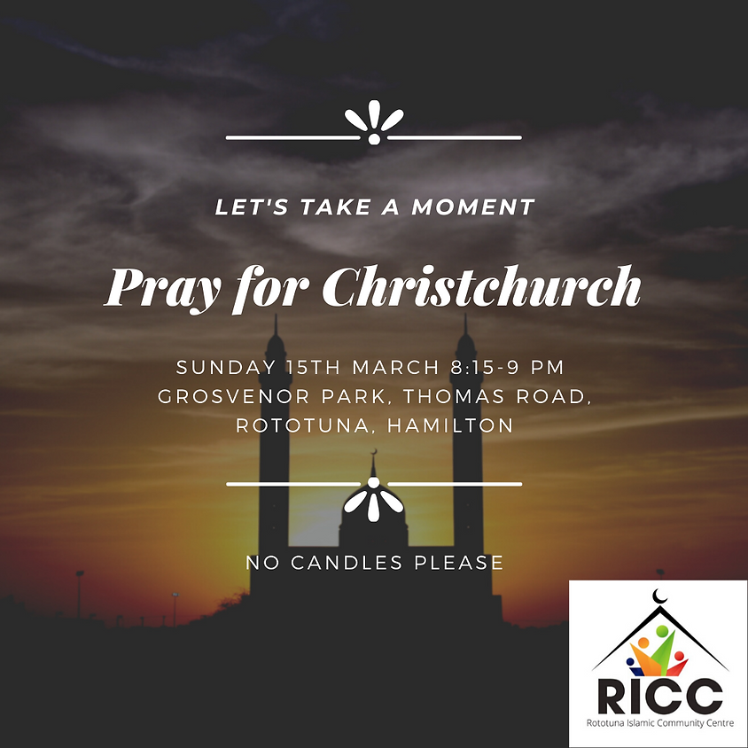 Pray for Christchurch