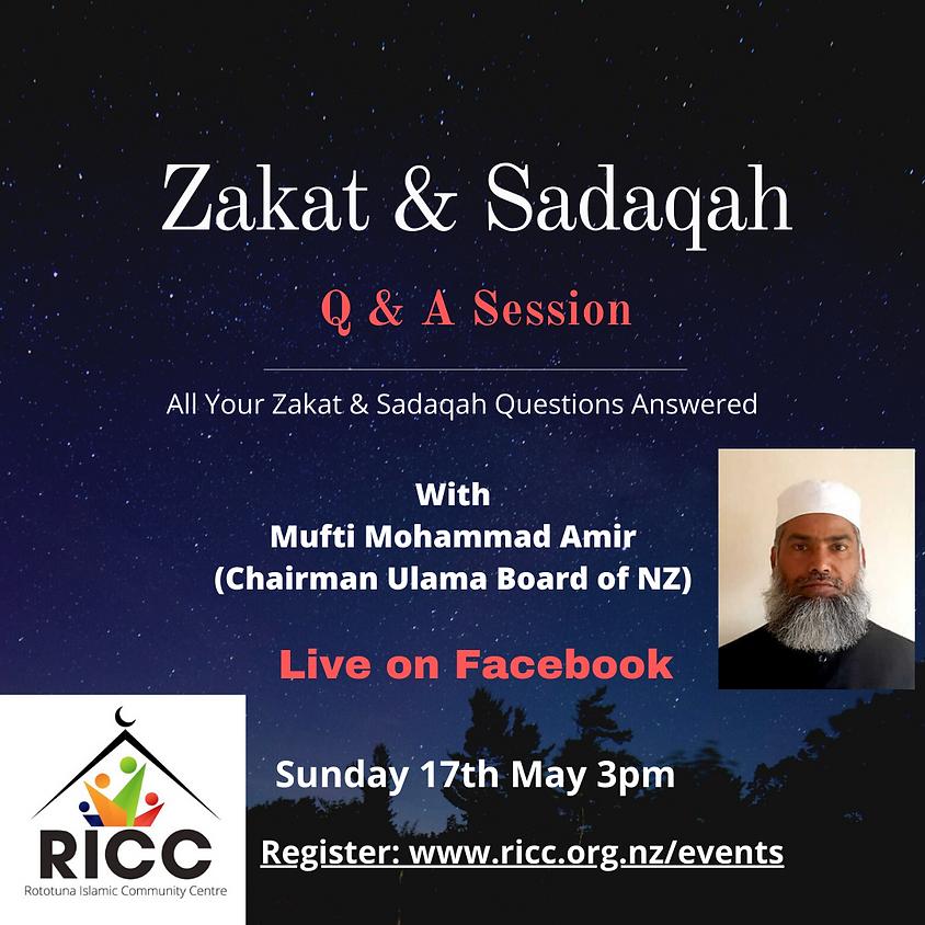 Zakat & Sadaqah (Q and A)