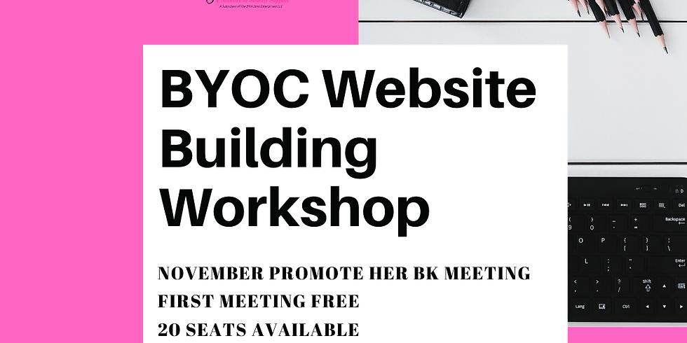 BYOC Website Building Workshop