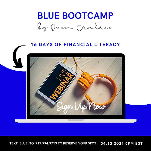 BLUE Money Management Bootcamp