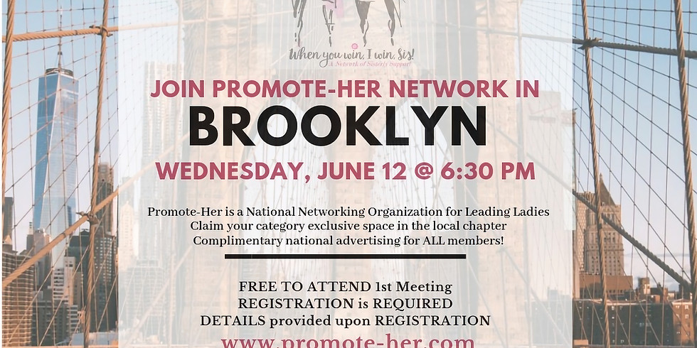 Promote Her Brooklyn Chapter Meeting