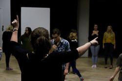 UEA final show rehearsals